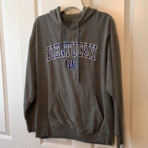 KENTUCKY Gray sweatshirt Pullover Hoodie